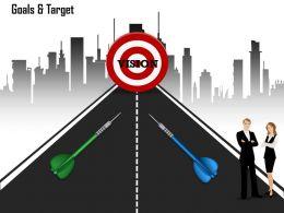 Use Target Dart Road Map For Busines 0214