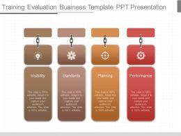 use_training_evaluation_business_template_ppt_presentation_Slide01