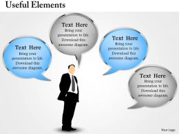 Useful Elements Powerpoint Template Slide