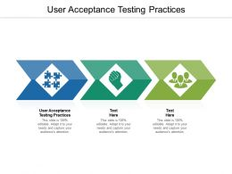 User Acceptance Testing Practices Ppt Powerpoint Presentation Outline Picture Cpb