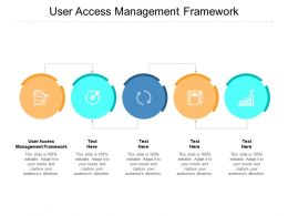User Access Management Framework Ppt Powerpoint Presentation Infographic Template Slide Cpb