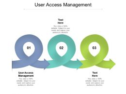 User Access Management Ppt Powerpoint Presentation Styles Templates Cpb