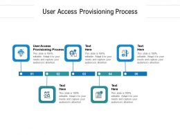 User Access Provisioning Process Ppt Powerpoint Presentation Infographics Sample Cpb