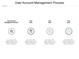 User Account Management Process Ppt Powerpoint Presentation Inspiration Graphics Design Cpb