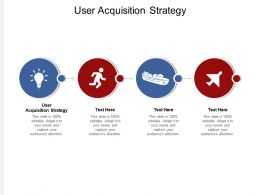 User Acquisition Strategy Ppt Powerpoint Presentation Professional Slideshow Cpb