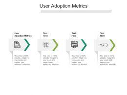 User Adoption Metrics Ppt Powerpoint Presentation Visual Aids Example File Cpb
