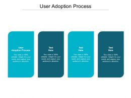 User Adoption Process Ppt Powerpoint Presentation Infographic Template Examples Cpb
