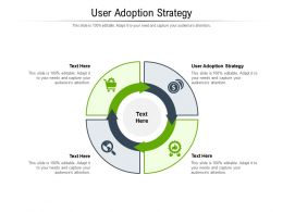 User Adoption Strategy Ppt Powerpoint Presentation Outline Example Cpb