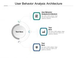 User Behavior Analysis Architecture Ppt Powerpoint Presentation Portfolio Model Cpb