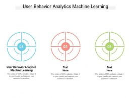 User Behavior Analytics Machine Learning Ppt Powerpoint Presentation Styles Sample Cpb
