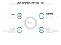 User Behavior Analytics Tools Ppt Powerpoint Presentation Ideas Layouts Cpb