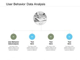User Behavior Data Analysis Ppt Powerpoint Presentation Slides Guide Cpb
