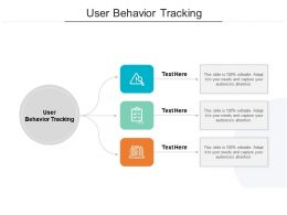 User Behavior Tracking Ppt Powerpoint Presentation Styles Graphics Download Cpb