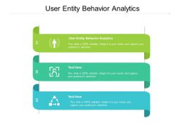 User Entity Behavior Analytics Ppt Powerpoint Presentation Icon Sample Cpb