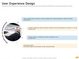 User Experience Design Requirement Management Planning Ppt Designs