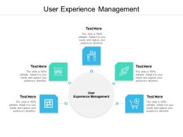 User Experience Management Ppt Powerpoint Presentation Portfolio Graphic Tips Cpb