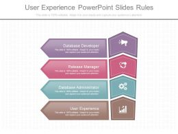 User Experience Powerpoint Slides Rules