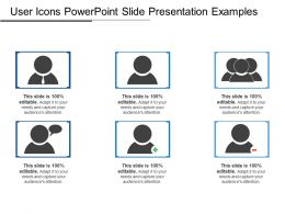 User Icons Powerpoint Slide Presentation Examples