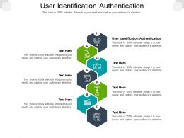User Identification Authentication Ppt Powerpoint Presentation Icon Slides Cpb
