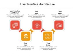 User Interface Architecture Ppt Powerpoint Presentation Show Grid Cpb