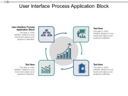 User Interface Process Application Block Ppt Powerpoint Presentation Ideas Pictures Cpb
