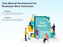 User Manual Development For Employee Work Instruction