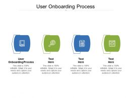 User Onboarding Process Ppt Powerpoint Presentation Inspiration Microsoft Cpb