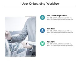 User Onboarding Workflow Ppt Powerpoint Presentation Infographics Files Cpb