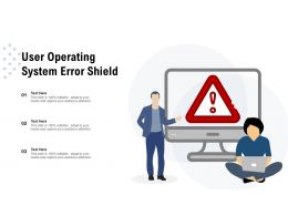 User Operating System Error Shield