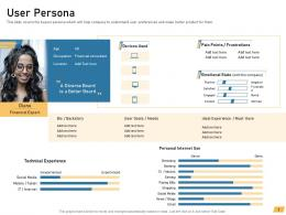 User Persona Requirement Management Planning Ppt Sample