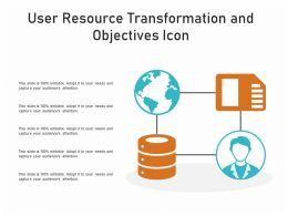 User Resource Transformation And Objectives Icon