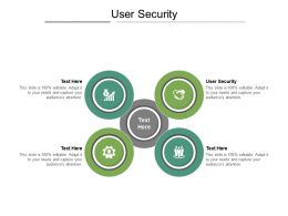 User Security Ppt Powerpoint Presentation Infographics Deck Cpb