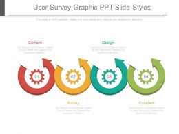 User Survey Graphic Ppt Slide Styles