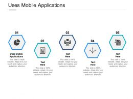 Uses Mobile Applications Ppt Powerpoint Presentation Outline Model Cpb