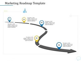 Using Chatbot Marketing Capturing More Leads Marketing Roadmap Template Ppt Powerpoint Presentation Tips