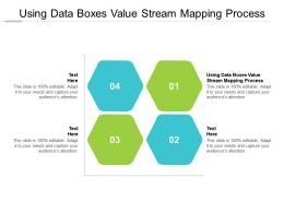 Using Data Boxes Value Stream Mapping Process Ppt Powerpoint Presentation Professional Files Cpb