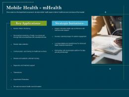 Using Digital Technology Transforming Processes Mobile Health Mhealth Ppt Outfit