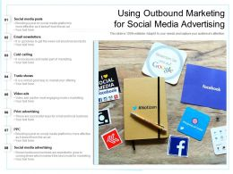 Using Outbound Marketing For Social Media Advertising