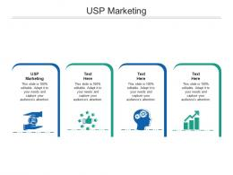 USP Marketing Ppt Powerpoint Presentation Professional Design Ideas Cpb