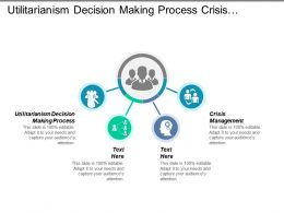 Utilitarianism Decision Making Process Crisis Management Global Investment Cpb
