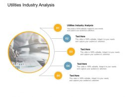 Utilities Industry Analysis Ppt Powerpoint Presentation Pictures Outfit Cpb