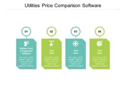 Utilities Price Comparison Software Ppt Powerpoint Presentation Portfolio Deck Cpb