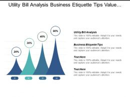 Utility Bill Analysis Business Etiquette Tips Value Proposition Cpb