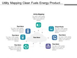 Utility Mapping Clean Fuels Energy Product Agriculture Actosol