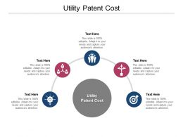 Utility Patent Cost Ppt Powerpoint Presentation Slides Graphics Template Cpb