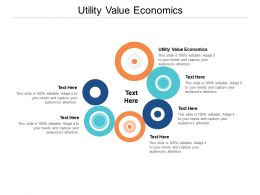 Utility Value Economics Ppt Powerpoint Presentation Model Visual Aids Cpb