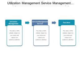 Utilization Management Service Management Service Business Intelligence Analytics Cpb