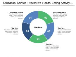 Utilization Service Preventive Health Eating Activity Options Local Actions