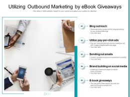 Utilizing Outbound Marketing By Ebook Giveaways