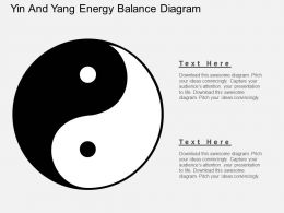uy Yin And Yang Energy Balance Diagram Flat Powerpoint Design